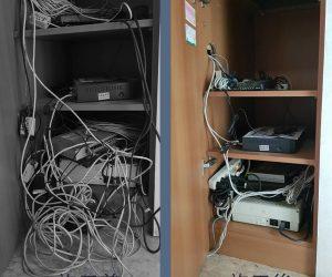 台南市安南區 辦公室-網路線重新配置